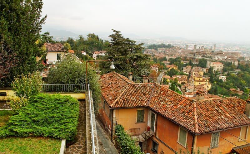 Bergamo alta fotografia stock immagine di casa alta for B b bergamo alta