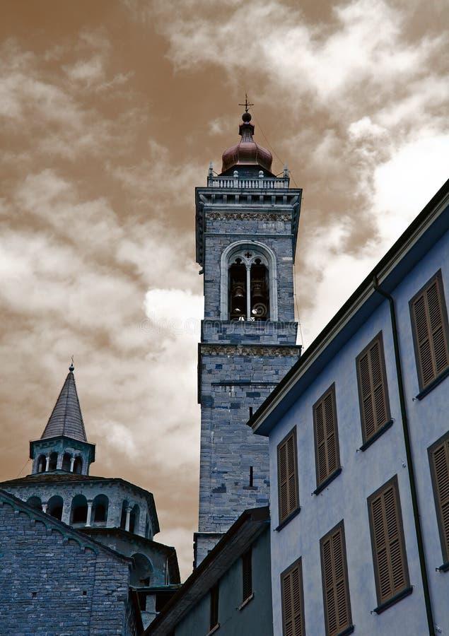 Bergamo church royalty free stock photography