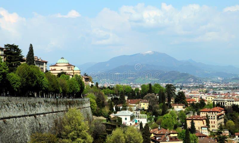 Bergamo, Citta Alta, Lombardy stock image