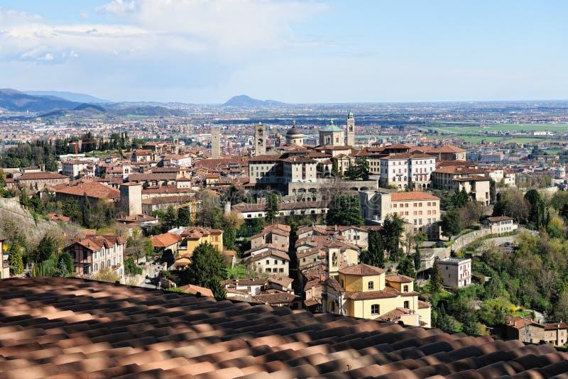 Bergamo citta alta lombardy italy stock photo image for B b bergamo alta