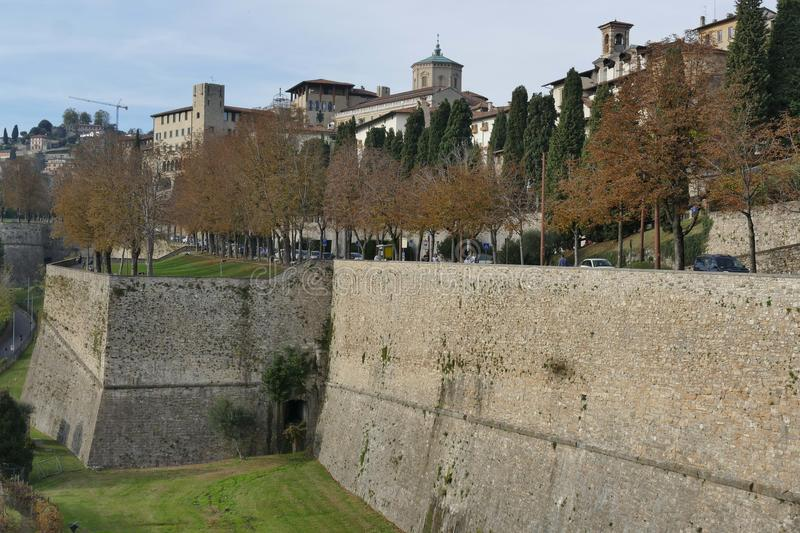 Download Bergamo - City Walls stock image. Image of bell, funeral - 108585015