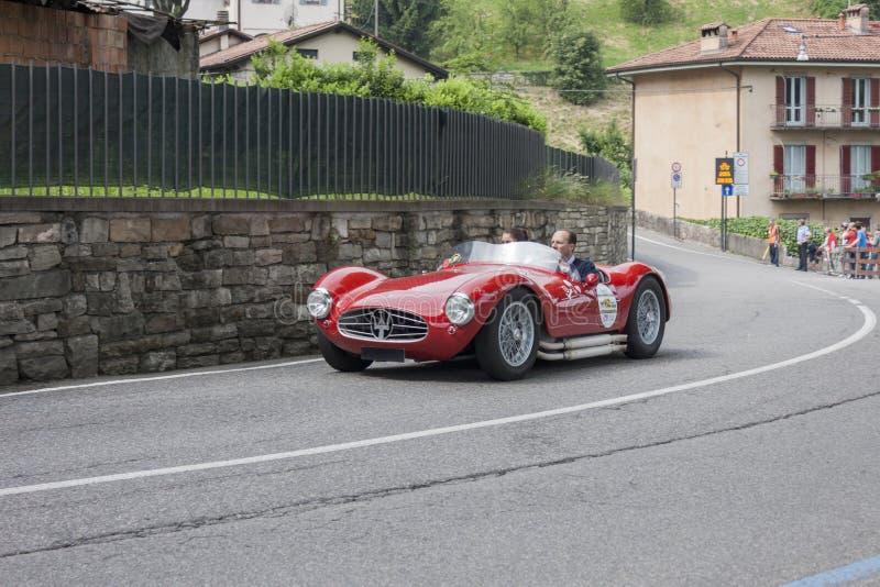 Bergamo Historische Gran Prix stock foto