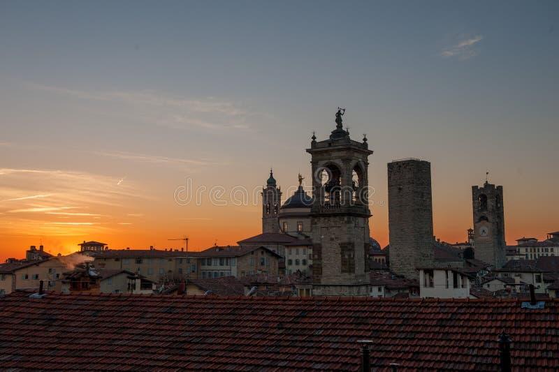 Bergamo royaltyfri bild