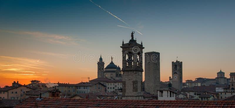 Bergamo royalty free stock images