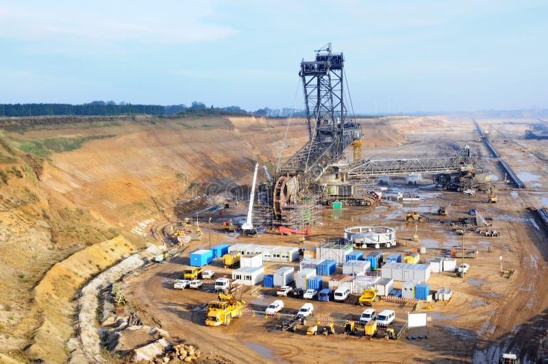 Bergbau stockbild