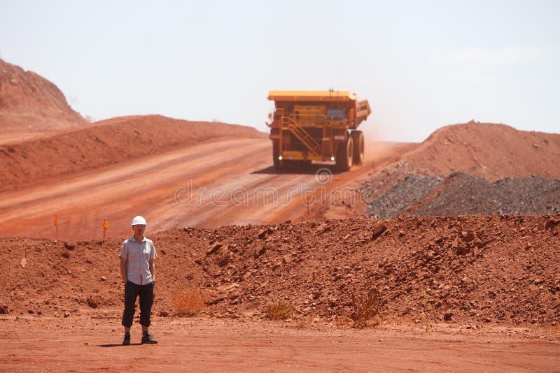 Bergbau-LKW stockfotografie