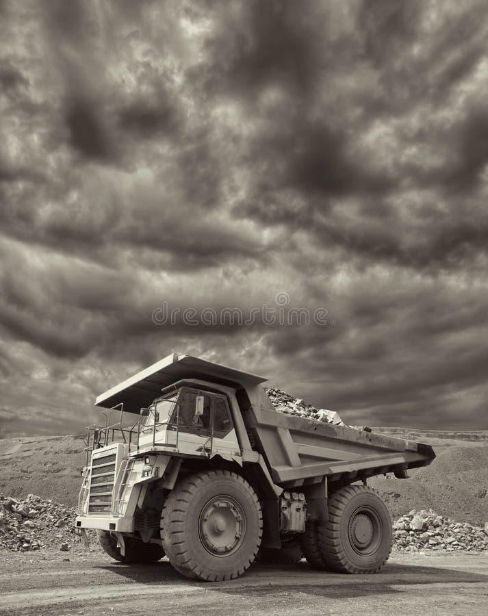 Bergbau-LKW lizenzfreies stockfoto