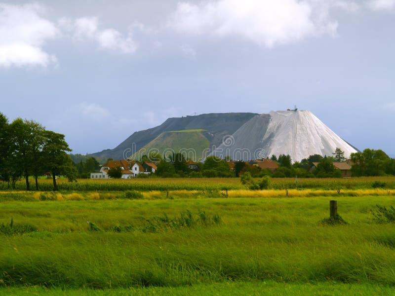Bergbauspeicherauszug lizenzfreie stockfotos