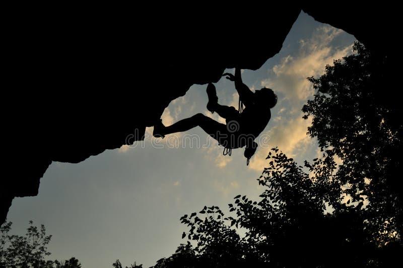 Bergbeklimming in de Oekraïne royalty-vrije stock fotografie