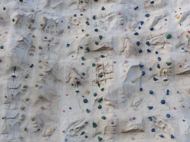 Bergbeklimmingsmuur royalty-vrije stock fotografie