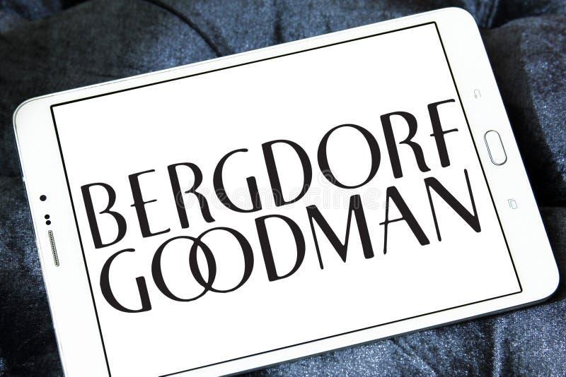 Bergdorf dobrego człowieka firmy ubraniowy logo zdjęcia stock