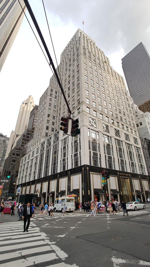 Bergdorf Goodman immagine stock libera da diritti