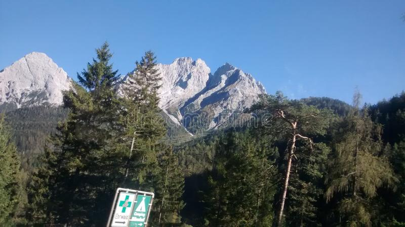 Berge royaltyfri foto