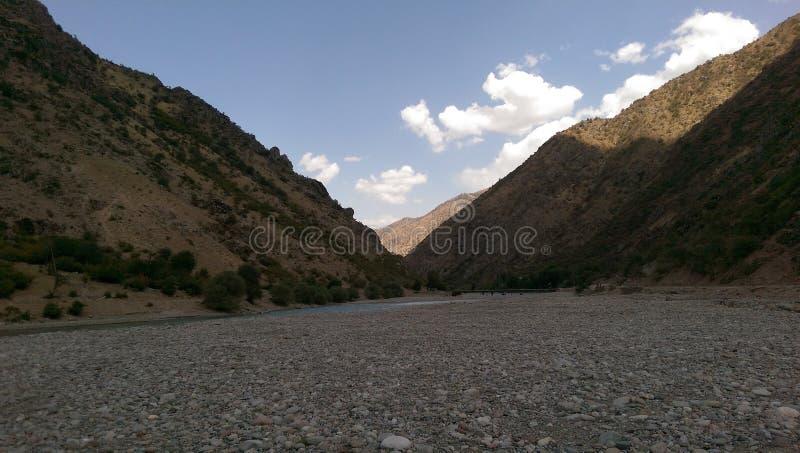 Berge stock afbeelding