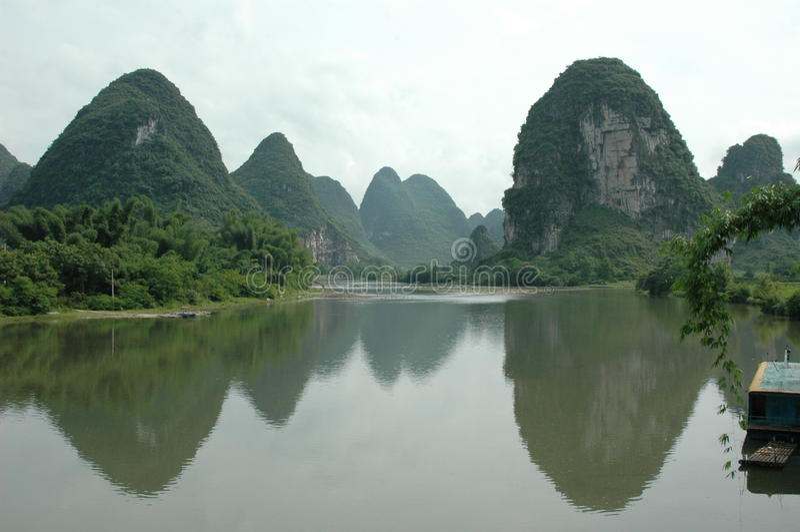 Berge in China lizenzfreies stockfoto
