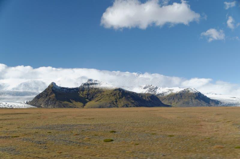 Berge in Island stockfotografie
