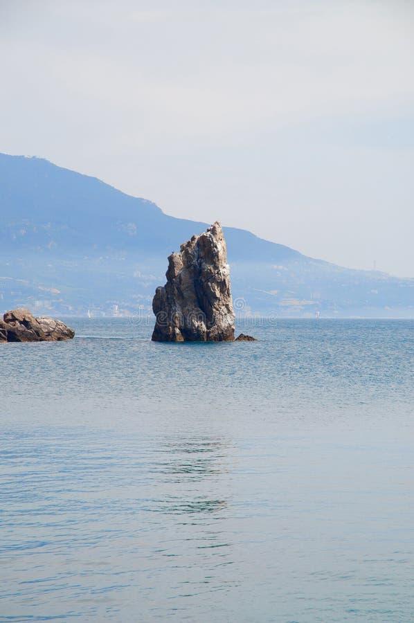 Berge, Meer, Krim lizenzfreie stockfotografie