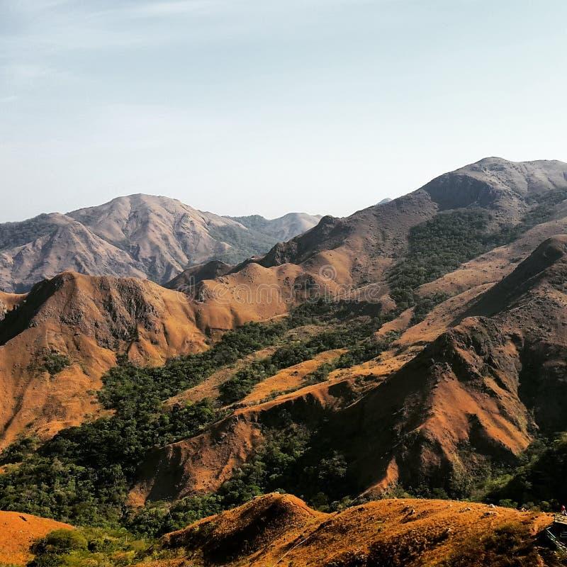 Berge Panama stockfotos
