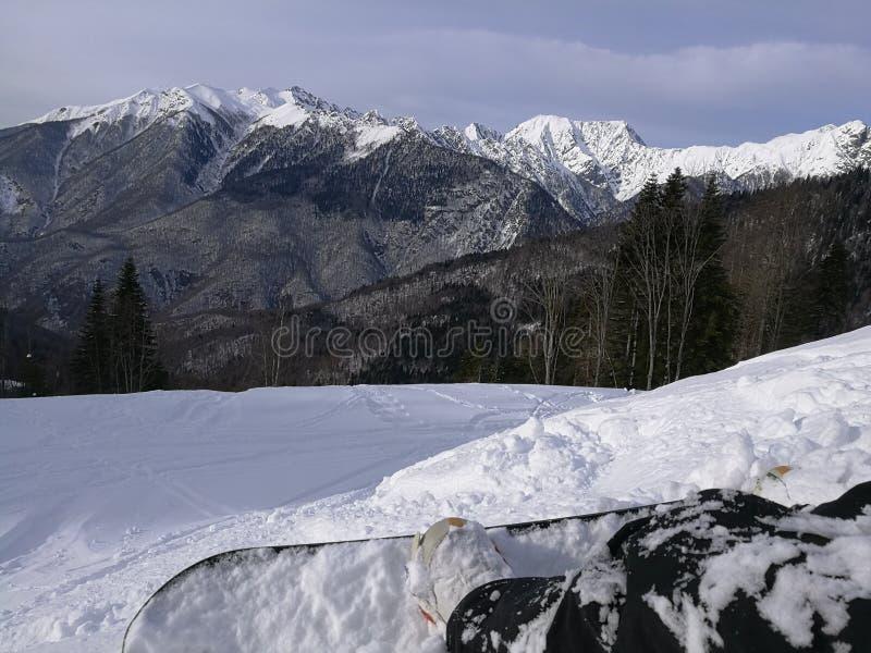 Berge in Sochi stockfoto