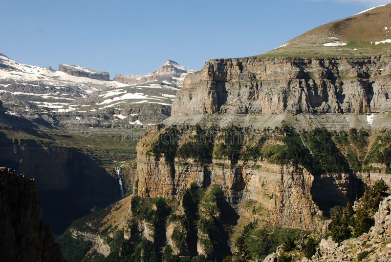 Berge in Spanien lizenzfreie stockfotos