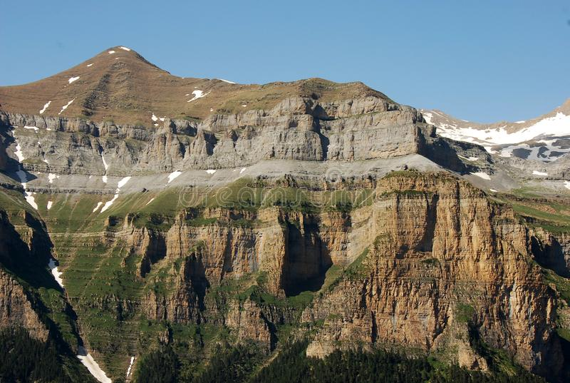Berge in Spanien stockfotografie