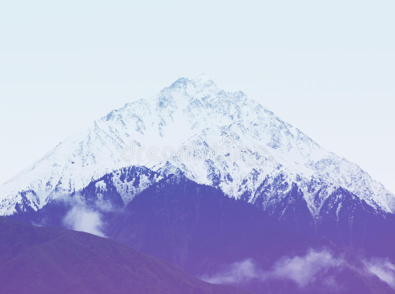 Berge und Hügel, Hippie-Weinlesefilter stockbilder