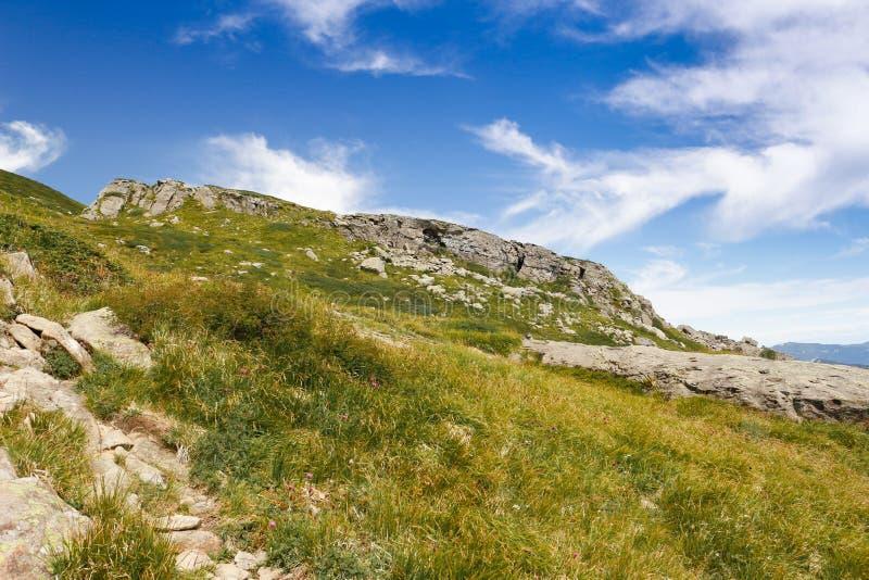 Berge von Italien: die Strecke Appennini stockfoto