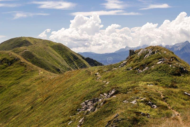 Berge von Italien: die Strecke Appennini lizenzfreies stockfoto