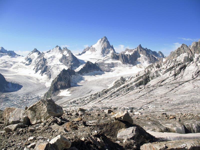 Berge von Kaukasus stockbild