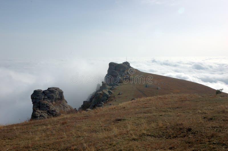 Berge von Krim stockbild