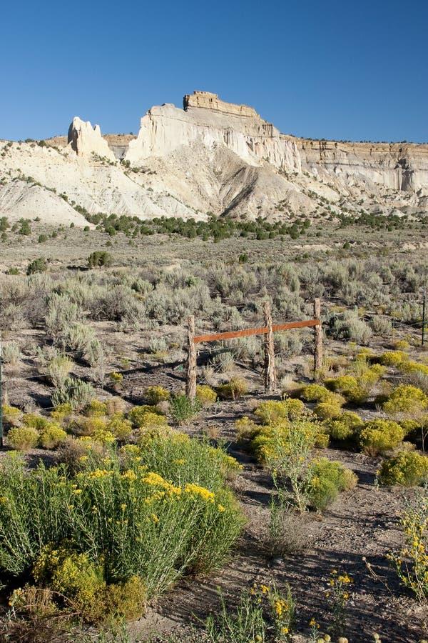 Berge von Utah stockfoto