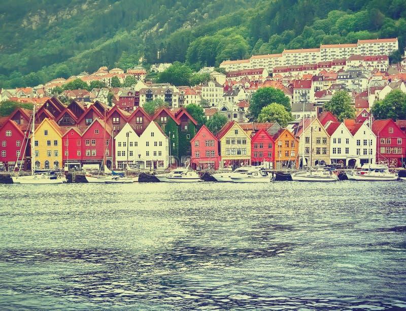 bergen Норвегия стоковое фото rf