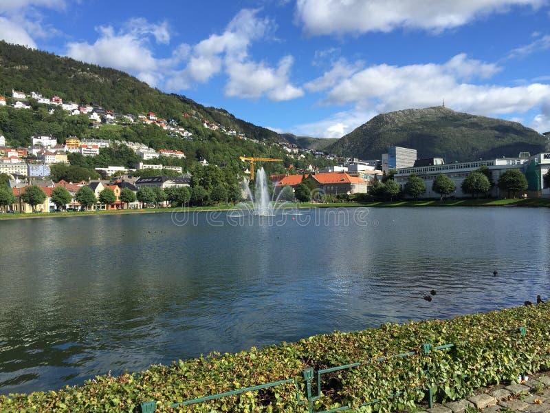 bergen Норвегия стоковые фото