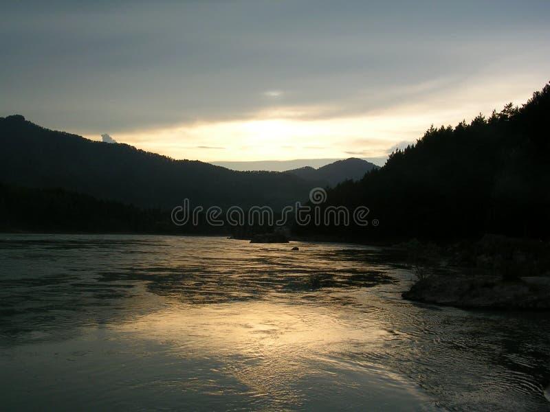 Bergen 1 van Altai stock foto's