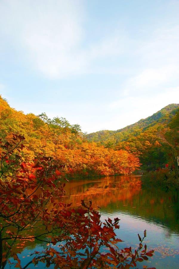 Bergen 10 van Guanmenshan China royalty-vrije stock afbeeldingen