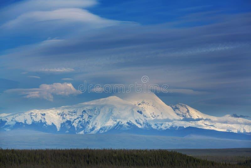 Bergen in Alaska royalty-vrije stock afbeeldingen