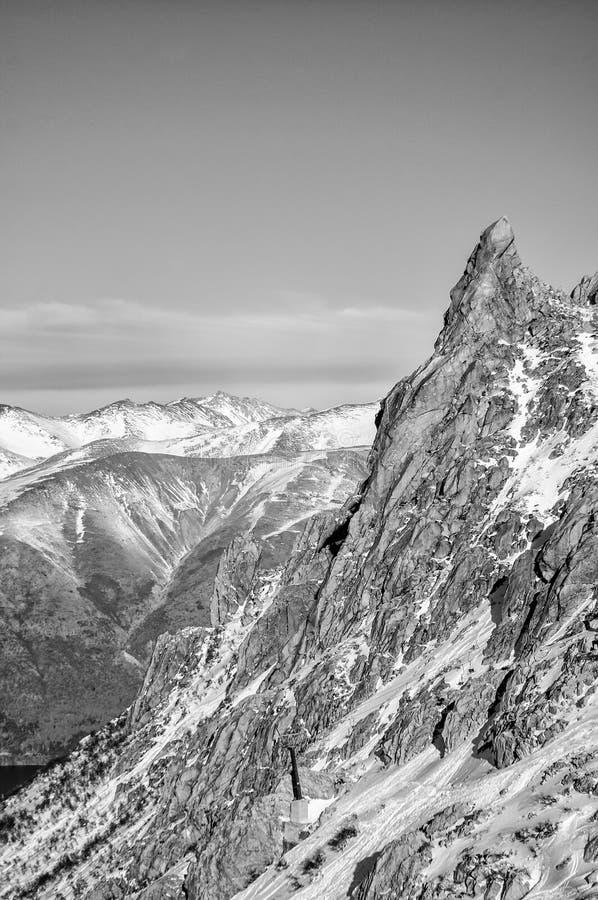 Bergen in Bariloche royalty-vrije stock afbeelding