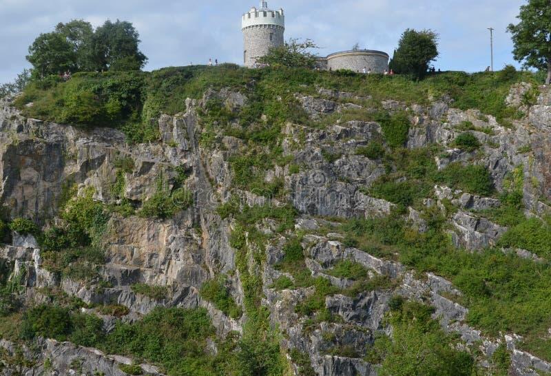 Bergen Bristol, Natur, naturen, Clifton, parkerar royaltyfria foton