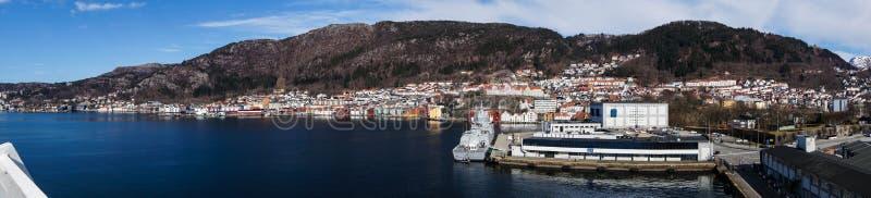 Bergen en Norvège image stock