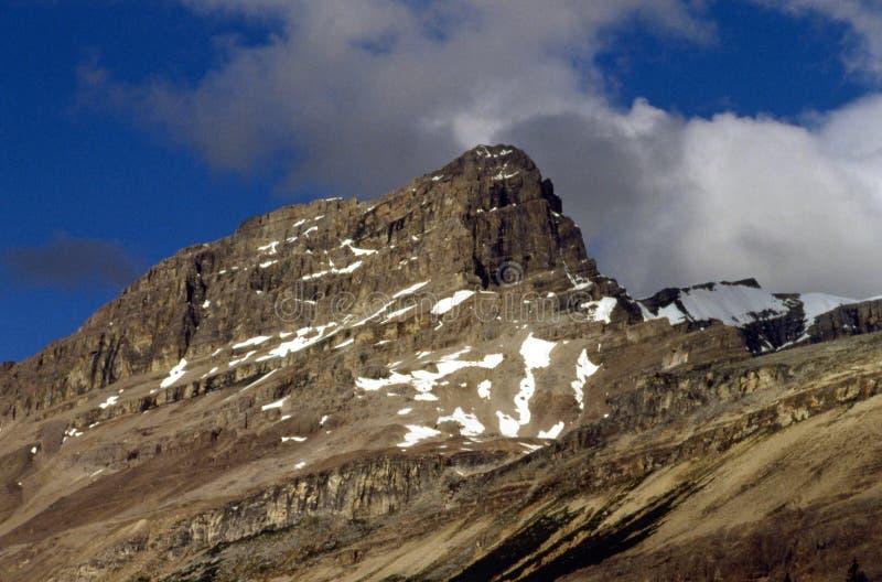 Bergen en Wolken royalty-vrije stock foto's