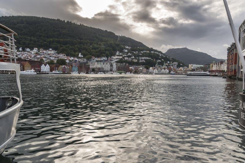 Bergen Haven Norway fotografia de stock royalty free