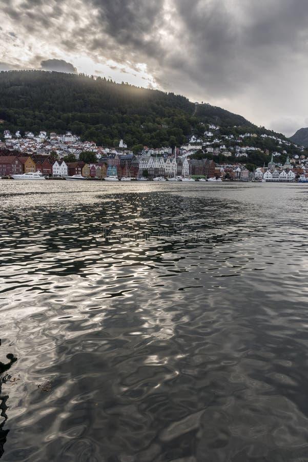 Bergen Haven Bergen Norway fotos de stock