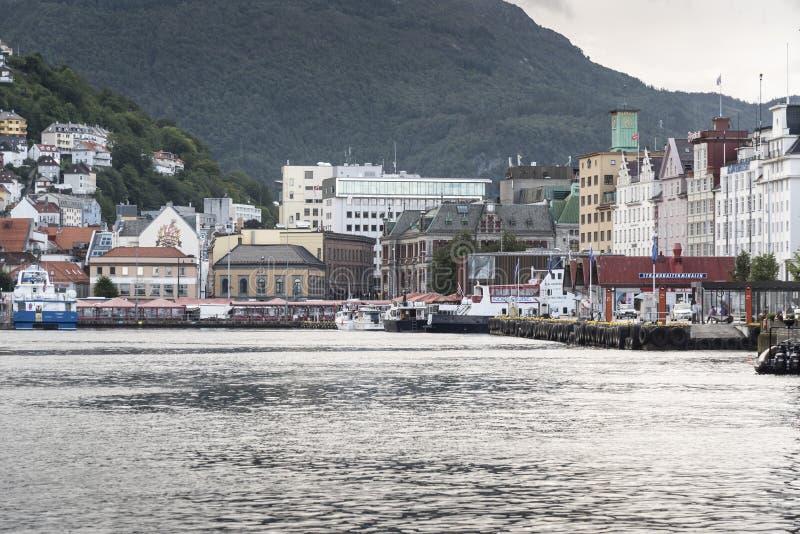 Bergen Haven Bergen Norway imagens de stock