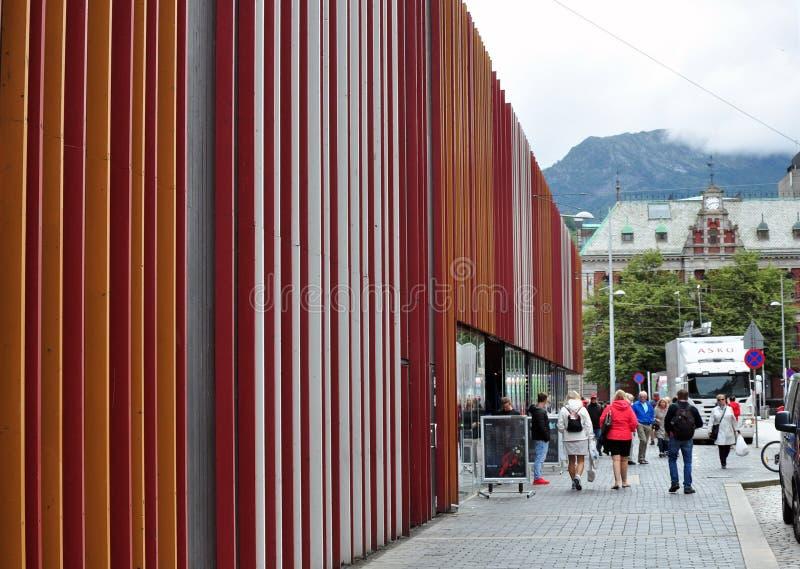 Bergen info center stock photos