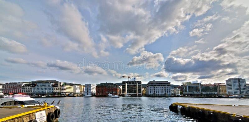 Bergen, Noorwegen royalty-vrije stock foto