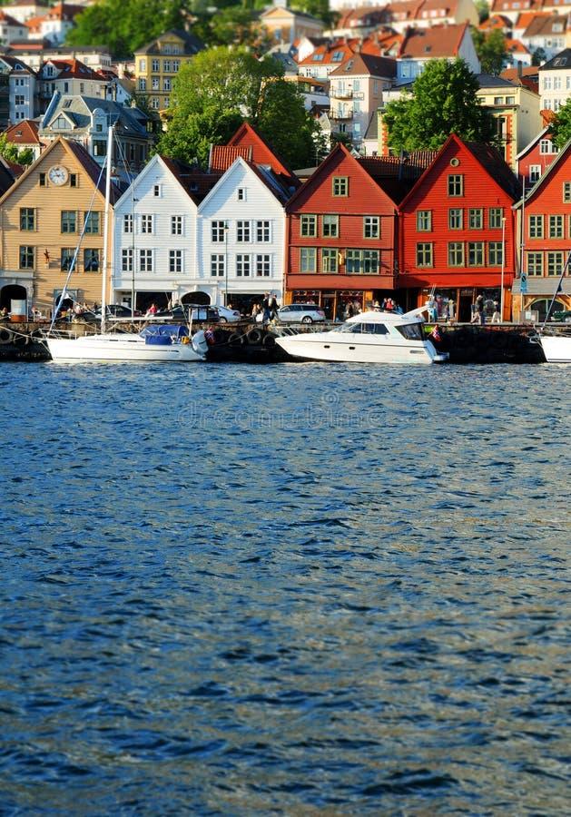 Bergen Noorwegen royalty-vrije stock afbeeldingen