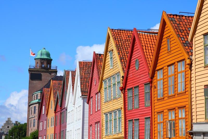 Bergen Norge arkivfoto