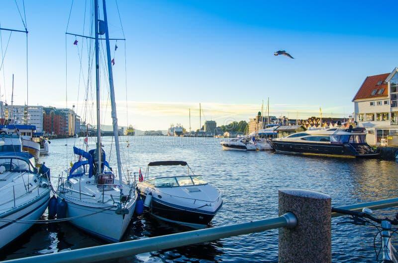 Bergen, Noruega fotos de stock royalty free