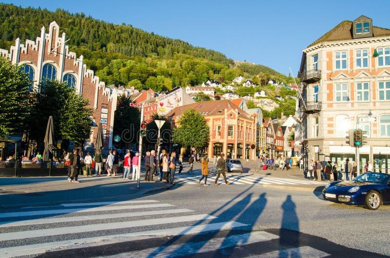 Bergen, Noruega fotografia de stock royalty free