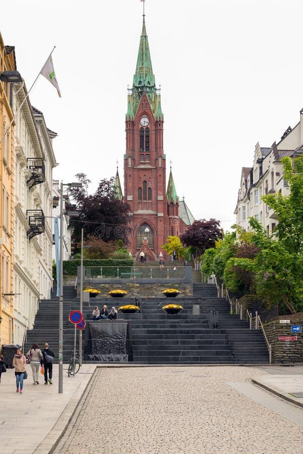 Bergen, Noruega, imagen de archivo libre de regalías
